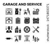 automotive garage and service... | Shutterstock .eps vector #1471803371