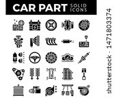 vehicle and car parts solid... | Shutterstock .eps vector #1471803374
