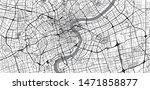 urban vector city map of...   Shutterstock .eps vector #1471858877