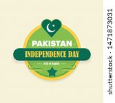 pakistan independence day...   Shutterstock .eps vector #1471873031