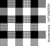 pixel check plaid pattern in... | Shutterstock .eps vector #1471965554