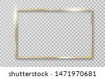 golden frame with shadows... | Shutterstock .eps vector #1471970681