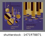 music poster template with... | Shutterstock .eps vector #1471978871