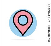 location  marker  pin abstract... | Shutterstock .eps vector #1471983974