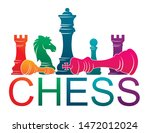 chess colorful figures pieces... | Shutterstock .eps vector #1472012024