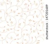 vintage seamless floral pattern  | Shutterstock .eps vector #147201689