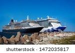 Pair Of Large Cruise Ships...