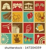 entertainment icons | Shutterstock .eps vector #147204359