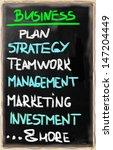 business plan concept.   Shutterstock . vector #147204449