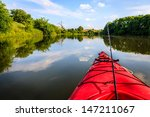 Fishing From A Kayak On A Smal...