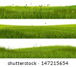 horizontal banners of abstract... | Shutterstock .eps vector #147215654