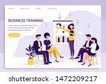 smart businesswoman giving a... | Shutterstock .eps vector #1472209217