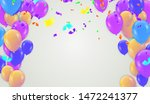 happy birthday greeting card... | Shutterstock .eps vector #1472241377