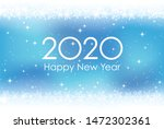 2020 New Year S Card Abstract...