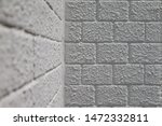 painted gray brick wall as a... | Shutterstock . vector #1472332811