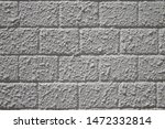 painted gray brick wall as a... | Shutterstock . vector #1472332814