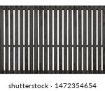 black timber fence or... | Shutterstock . vector #1472354654