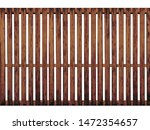 brown timber fence or... | Shutterstock . vector #1472354657