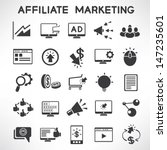 e marketing and affiliate... | Shutterstock .eps vector #147235601