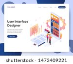 landing page template of user...