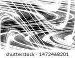 black and white wavy grunge...   Shutterstock . vector #1472468201