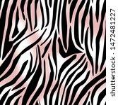 seamless zebra stripes pattern. ...   Shutterstock . vector #1472481227
