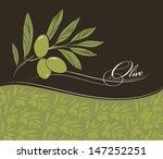 vector decorative olive branch...