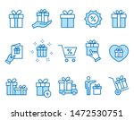 set of gift box icons  such as... | Shutterstock .eps vector #1472530751