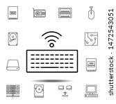 hardware  keyboard  wifi icon....