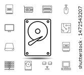 hardware  hard disk icon....
