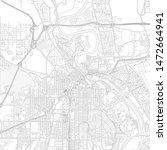 shreveport  louisiana  usa ... | Shutterstock .eps vector #1472664941