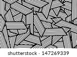 abstract white and black pattern | Shutterstock . vector #147269339