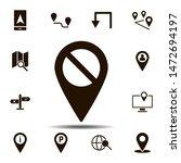 location  check icon. simple...
