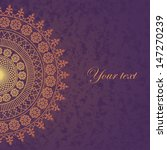 vector decor lace on vintage...   Shutterstock .eps vector #147270239