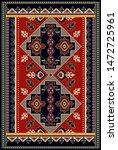 colorful ornamental vector...   Shutterstock .eps vector #1472725961