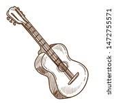 musical instrument acoustic... | Shutterstock .eps vector #1472755571