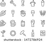 set of drinks icons  glass ... | Shutterstock .eps vector #1472786924