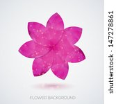 creative flower background.... | Shutterstock .eps vector #147278861