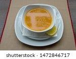 mercimek corbas   lentil soup... | Shutterstock . vector #1472846717