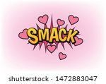Smack Lettering In Pop Art...