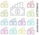 dollar  analytics multi color...