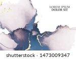 marble tender rose navy... | Shutterstock .eps vector #1473009347