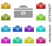 tool box multi color icon....