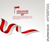 singapore independence day...   Shutterstock .eps vector #1473207221