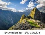 Machu Picchu  Peru  Southa...