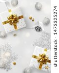 christmas background. festive... | Shutterstock .eps vector #1473325274