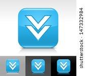 download arrow icon. blue color ...