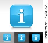 information icon. blue color...