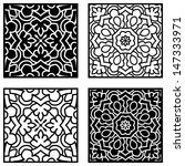 set of ethnic ornaments for... | Shutterstock .eps vector #147333971