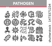 collection pathogen elements... | Shutterstock . vector #1473371234